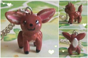 Little Fawn Necklace by bapity88