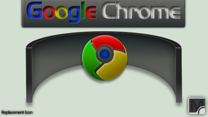 Google Chrome Soft Icon by vi20RickrMetal12us