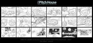 Angry Birds Star Wars II Storyboards 2 by timshinn73