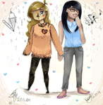 Collab with Maplyyyy + 1 YEAR ANNIVERSARY by plaputasa009