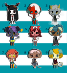 Theme Demon Adopts {CLOSED} by DandyDuo