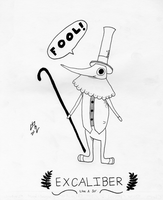 Excalibur (FOOL!) by Mysterious-Master-X