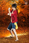 Monkeying Around! - Luffy One Piece Cosplay by faramon