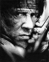 Stallone - Rambo No.1 by amberj8