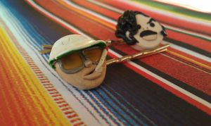 Fear and Loathing Bobby Pins by Gynecology