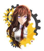 Kurisu Makise by geneous