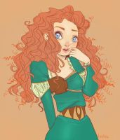 Merida by unrealmelody