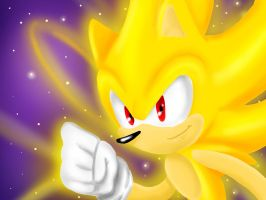 One Hour Sonic - Super Sonic! by DanielasDoodles