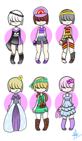 Outfit Adopts - Closed by MyuOneeChan