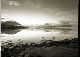 Loch Torridon Sunrise by monosolo
