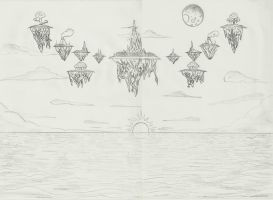 The 12 Islands by Watercreess