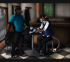 A cup of coffe-Collaboration by the-MadDog