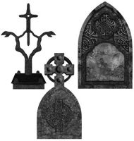 XD Tombstones Brushes by exiledesigns