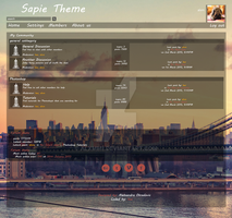 Sapie Theme Template by alxmm1