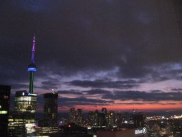 Toronto Sky by DeathTwilight