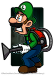 Scared Luigi by RatchetMario