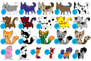 CLOSED - Thanks 1,000 PV!! Free Adopts Sheet!! by OstendorfsAdopts