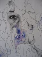 Blind Contour detail1 by KirstaTaylor