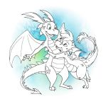 Here be Dragons by shani-hyena