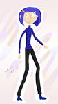 Painted Coraline 2 by hidingmymess