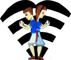 Wifi Couple by mifortin
