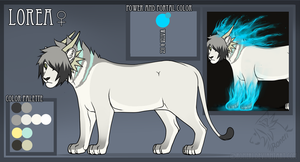Lorea reference sheet OCTOBER by Roneri