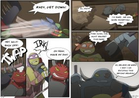 TMNT DR: Pages 19-20 by Samantai