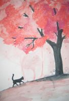 Murtsa and a cherry tree by TennisBall0