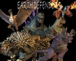 Earth Defenders Wallpaper by Lordstrscream94