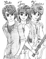 Jonas Brothers by FullmetalApollo