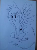 Spectrum Storm LineArt by SparklyOn3