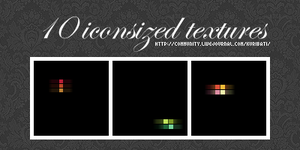 10 lightsquares - icontextures by schokotorte