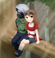 AT:Shirubia x Kakashi by xXUnicornXx