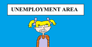 Angelica at the Unemployment Area by MikeEddyAdmirer89