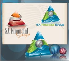 SA Financial Logo by sameer