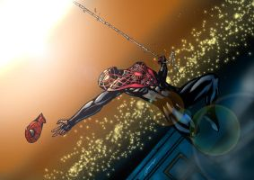 New ultimate Spider man by LTartist