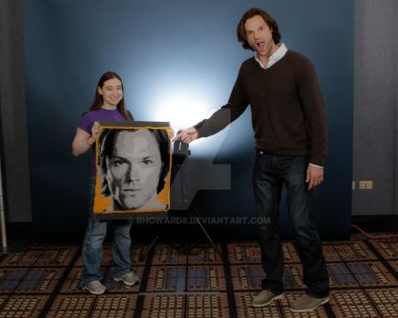 Jared and his crochet portrait by rhoward8