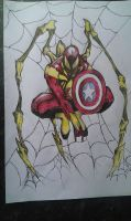 Spiderman (Ironman suit) by MrBamboozle