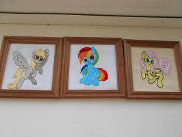 Three Little Ponies by LightDragon1988