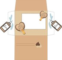Envelope Ice Cream III by yfm-stock