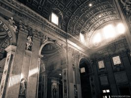 Rome in duotone. Vatican III by crelight
