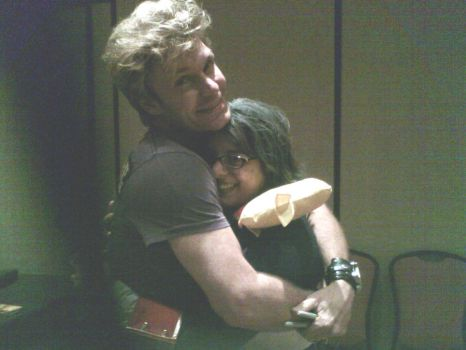 Me and the Awesome Mignogna by EirilovesShuichi