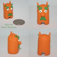 Olaf the Timid Monster by TimidMonsters