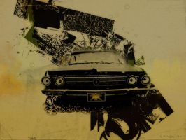 Digital Art - Car - Lowrider by RuslanKadiev