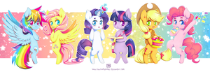 All the Little Ponies by NauticalSparrow