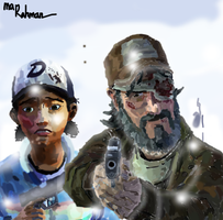 Clem and Kenny - Amid The Ruins by ArifAlawawa