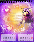2012 FT Calendar --Jul. Aug.--Mavis Vermillion by icecream80810