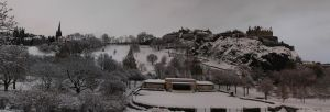 Edinburgh Snow Panorama by 100-days