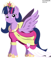 Princess Twilight Sparkle by JonPablo45