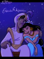 3. Jasmin and Aladdin by chocolatecherry